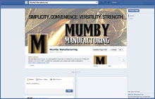 Image of Mumby Manufacturing's Facebook Page