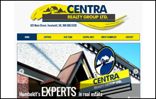 Screen Shot of Centra Realty Group Ltd. home page